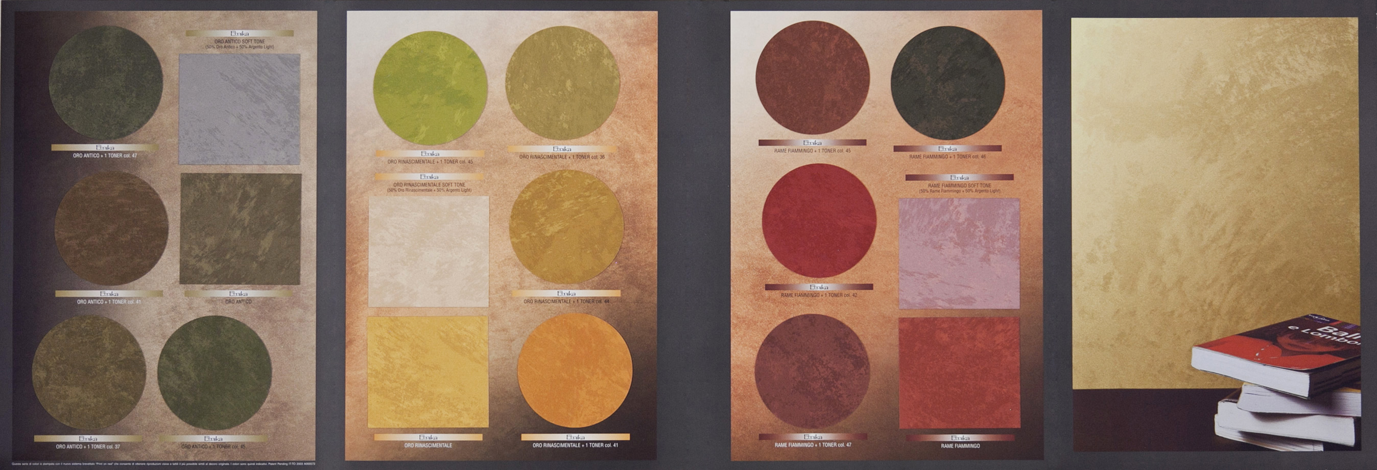 Fabulous candis etnika with tabella colori per pareti interne for Tabella colori per pareti interne