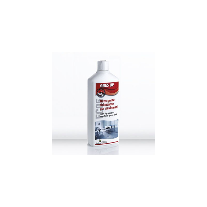 GRES UP - FC05 Pavimentazione - pulizia manutenzione protezione Ferderchemicals s.r.l