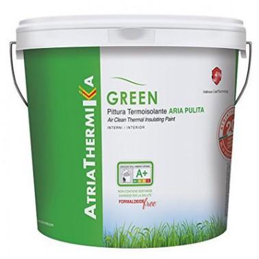 Atriathermika Green Aria Pulita per interni Pittura termica antimuffa per risparmio energetico Atria