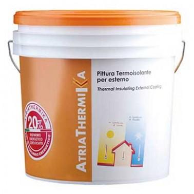 AtriaThermiKa Pittura termoisolante per esterni Pittura termica antimuffa per risparmio energetico Atria