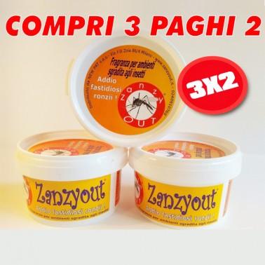 Promozione Zanzyout 3x2 Prodotti Naturali