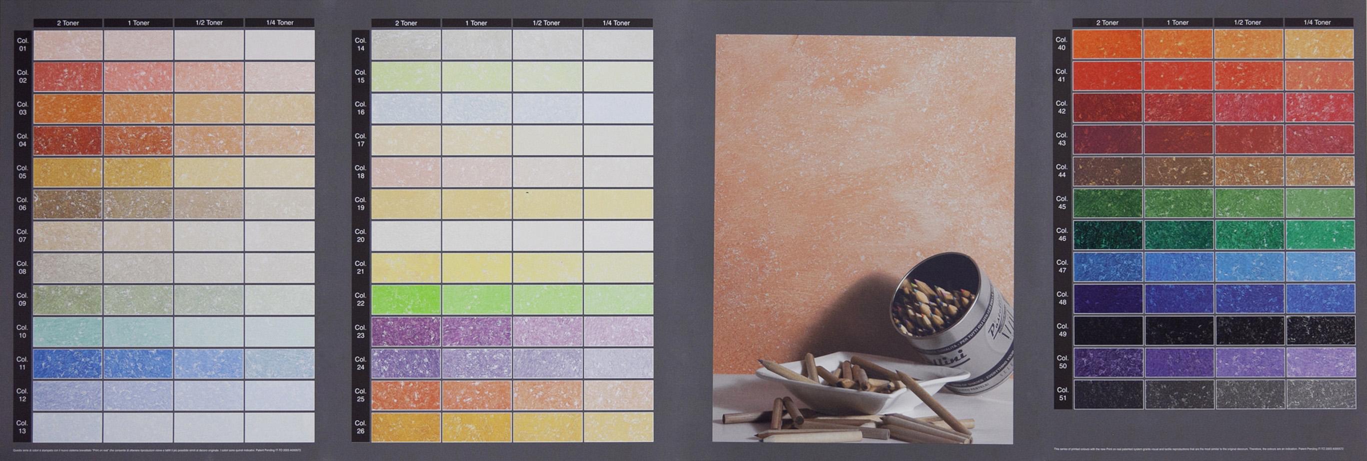 Colori Perlescenti Per Pareti sistemi di isolamento termico: colori terre fiorentine pittura